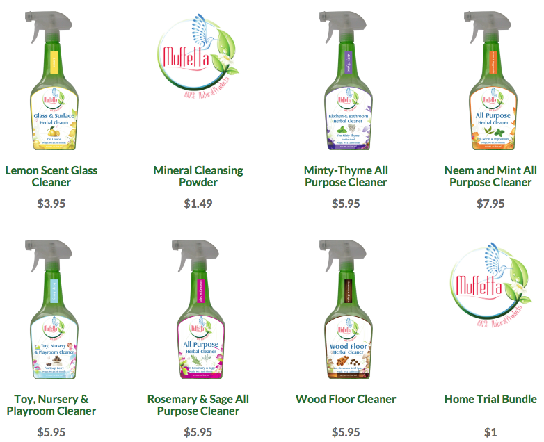 Green Cleaning Products Muffettas